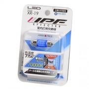 日本 IPF 12V 汽車用 LED 藍光 房燈 31mm 雙尖頭 70000K