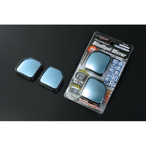 日本 JDM 汽車用倒後鏡專用盲點鏡倒後鏡藍鏡