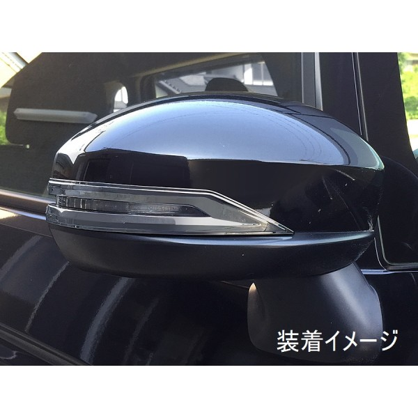 日本 JDM HONDA 本田 JAZZ FIT GK 3 4 5 6 RS 專用倒後鏡電鍍裝飾貼
