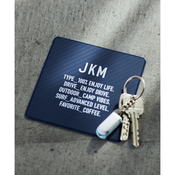 日本 JKM 汽車用碳纖紋防滑墊 綠色 深藍色 深灰色 3色可選