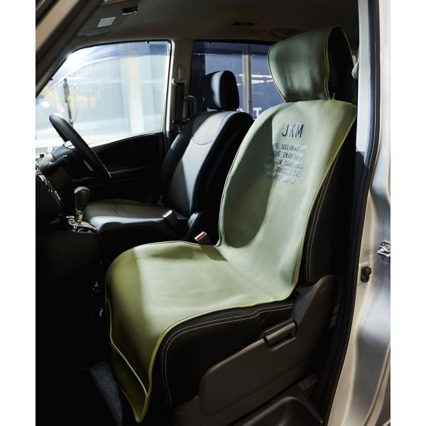 日本 JKM 汽車用座椅套防水墊防污墊司機位乘客位單座前座 ( 綠色 / 深藍色 / 深灰色 )