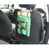 日本 汽車用背囊造型椅背多功能雜物袋
