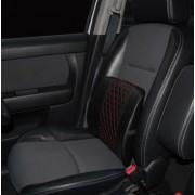 日本 汽車用舒適紅黑腰枕腰墊