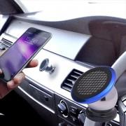 日本 MAG 汽車用磁石手機架電話座 --- 藍色