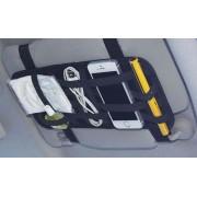 日本 KASHIMURA 汽車用太陽擋板橡根收納袋雜物袋固定帶