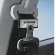 日本 KASHIMURA 汽車用電鍍黑邊安全帶夾