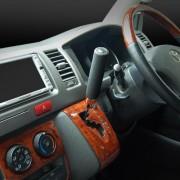 日本 KASHIMURA 汽車用真皮自動波 / 棍波波棍