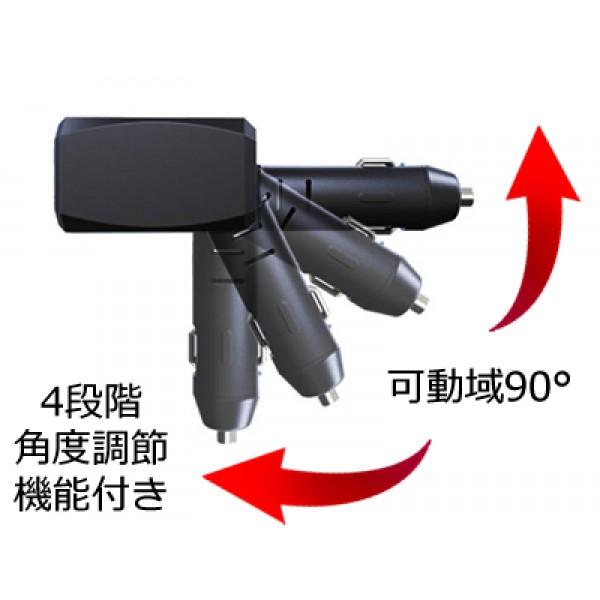 日本 KASHIMURA 汽車用一拖二點煙器一拖二USB充電器分插直插 TYPE-C