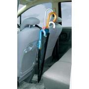 日本 KASHIMURA 汽車用黑色椅背雨傘袋雨遮收納袋