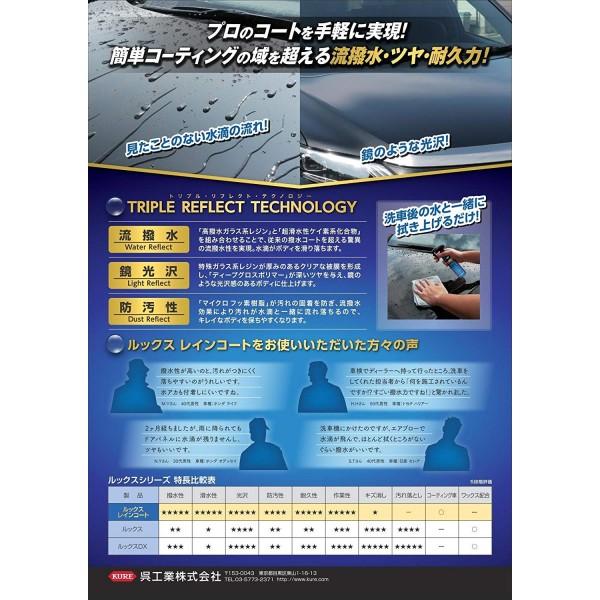 日本製 KURE LOOX RAINCOAT 汽車用車身水鍍膜