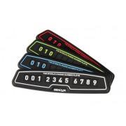 韓國製 簡約電話號碼牌如有阻塞留言板(4色可選)