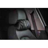 韓國 汽車用皮質頸枕頭枕