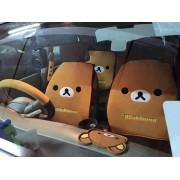 韓國 汽車用鬆弛熊造型 全車椅套