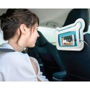 韓國 SMART 汽車用多功能熊型後座電話架