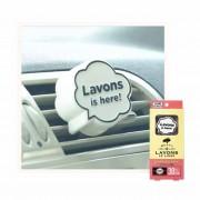 日本製 LAVONS 汽車用創意 POP-UP 冷氣出風消臭香水香薰香片 ( 香檳月亮香味 )