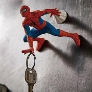 MARVEL 蜘蛛俠 SPIDERMAN 公仔造型車匙門匙固定收納擺設