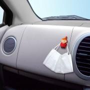 日本 MEIHO 汽車用MOOMIN MOOMINTROLL LITTLE MY 阿美口罩專用掛鉤掛勾