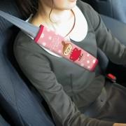 日本 MOOMIN MOOMINTROLL 姆明 LITTLE MY 阿美 汽車用安全帶套保護套