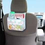 日本 MEIHO 汽車用角落生物多功能後座椅背雜物袋收納袋