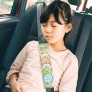日本 SUMIKKO GURASHI 角落生物 汽車用安全帶套保護套