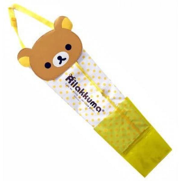日本 MEIHO 汽車用鬆弛熊大頭 雨傘袋