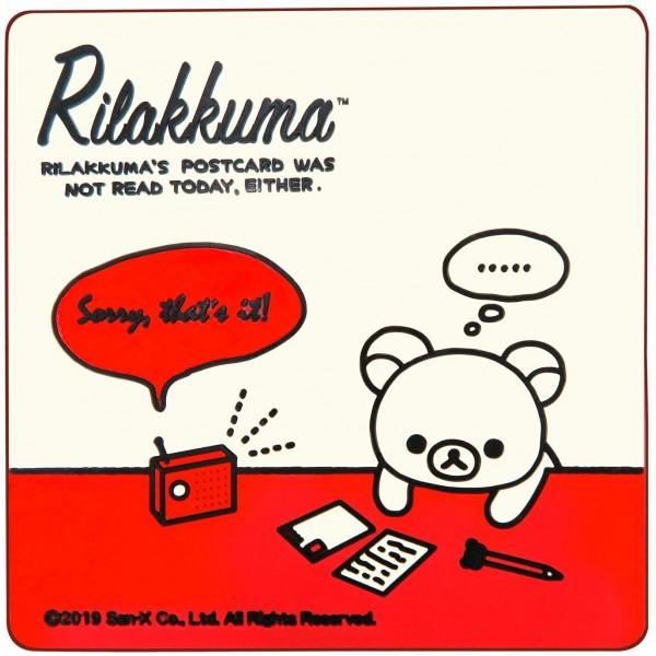 日本 鬆弛熊 RILAKKUMA 汽車用可愛防滑墊