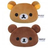日本 MEIHO 汽車用鬆弛熊公仔頭型安全帶夾
