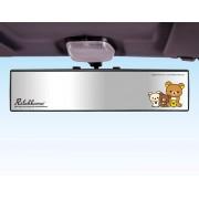 日本 MEIHO 鬆弛熊 汽車用倒後鏡盲點鏡平面鏡