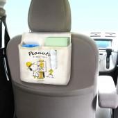 日本 MEIHO 汽車用SNOOPY 椅背多功能收納袋