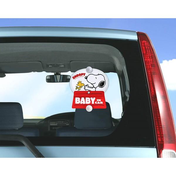 日本 汽車用 SNOOPY屋頂 CHILD / BABY IN CAR 車上有嬰兒