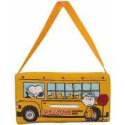 日本 SNOOPY 史努比 汽車用巴士造型椅背紙巾袋