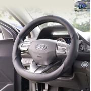 韓國製造 HYUNDAI MOBIS 汽車用黑色皮質軚環套軚盤套 ( 抗菌 )