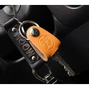 美國 MOONEYES 汽車用電單車用皮革車匙套門匙套