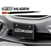 日本 MUGEN 無限 HONDA 本田 汽車用碳纖車牌架