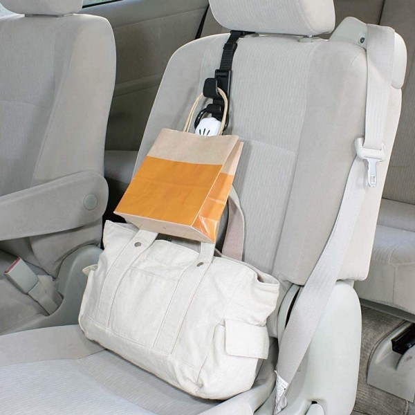日本 NAPOLEX MICKEY 汽車用米奇手仔拳頭椅背掛勾掛鈎掛鉤
