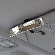 日本 NAPOLEX 車內長型輔助鏡盲點鏡太陽擋板用