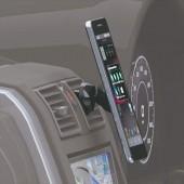日本 NAPOLEX 汽車用風口磁石電話座