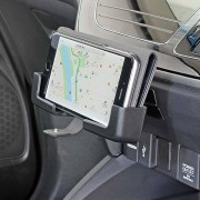 日本 NAPOLEX 汽車用橫型手機架電話座