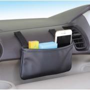 日本 NAPOLEX 汽車用便利皮質雜物袋