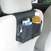 日本 NAPOLEX 汽車用椅背多功能後座雜物袋收納袋