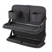 日本 NAPOLEX 汽車用椅背雜物袋雜物架餐枱