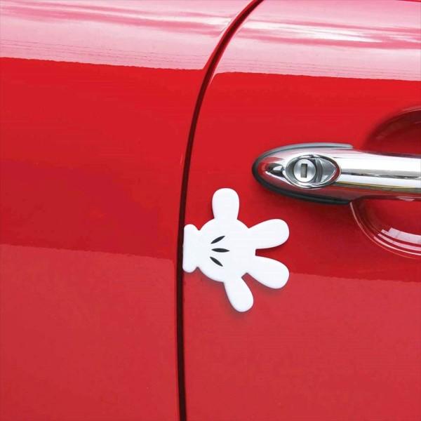 日本 NAPOLEX 汽車用米奇手掌造型門邊防撞