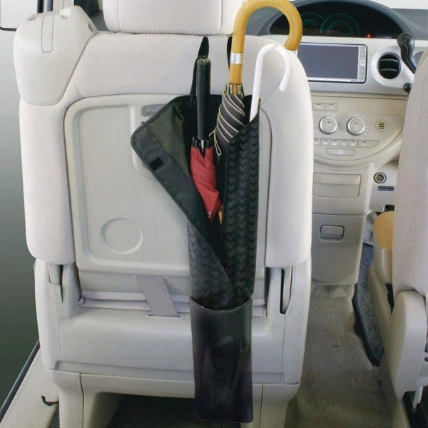 日本 NAPOLEX 汽車用椅背米奇老鼠雨傘袋遮袋收納袋