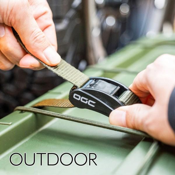 日本 OGC 汽車用車尾箱袋行李固定帶多功能多用途索帶鬆緊帶