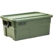 日本 OGC 汽車用4WD軍綠色大型膠質收納箱雜物箱