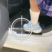 日本 PULLUCID 汽車用車門邊腳踏板透明保護貼防花貼