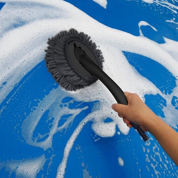 日本 PROSTAFF 洗車用蟲蟲纖維海棉海棉手柄扶手 ( 可駁水喉 )