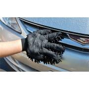 日本 PROSTAFF 汽車用洗車用蟲蟲長毛雙面洗車手套