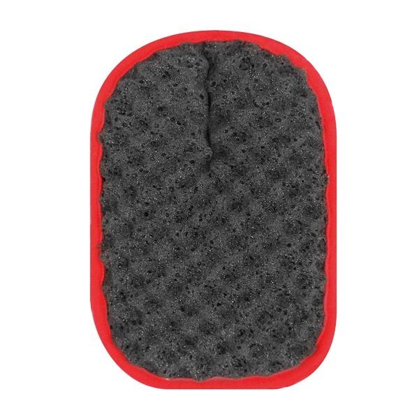 日本 PROSTAFF 汽車用洗車海綿手套紅邊海綿 --- 可用於鍍膜施工車