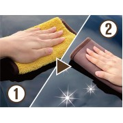 日本 PROSTAFF 汽車用雙面清潔布毛巾吸水布玻璃清潔布